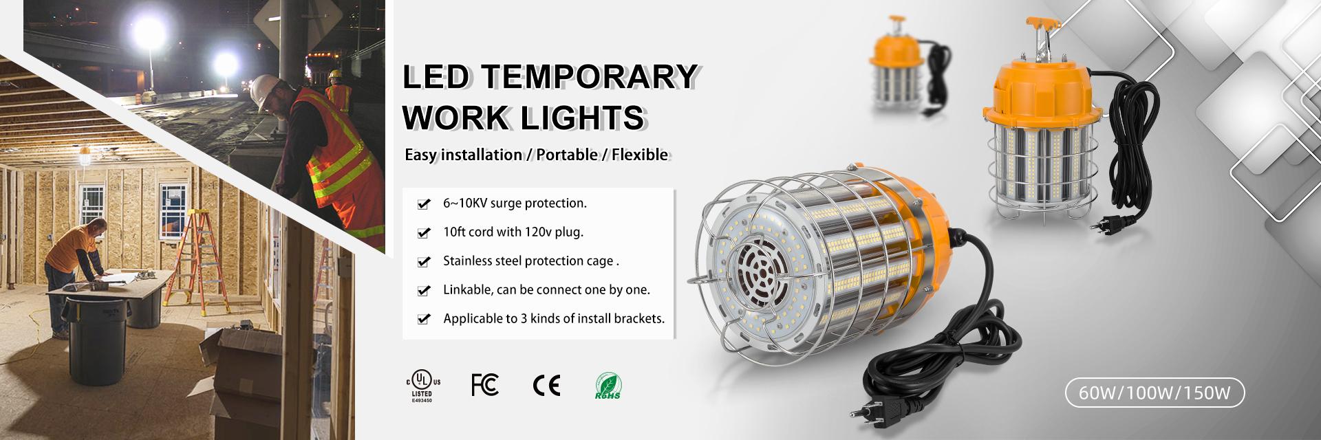 LED Temporary Work Light