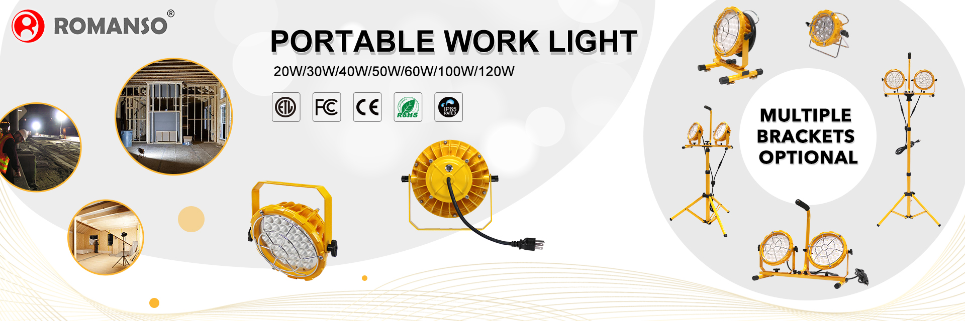 LED Temporary Work Light