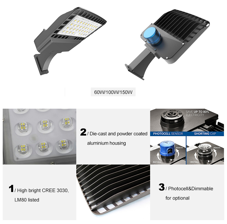 60W/100W/150W LED Shoebox Light