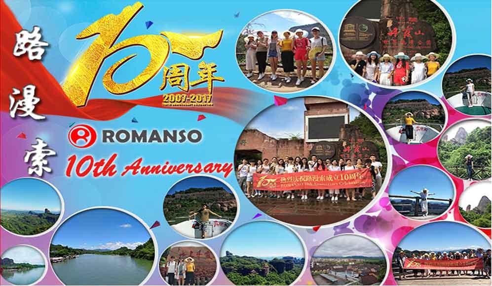 ROMANSO 10th Anniversary Celebration