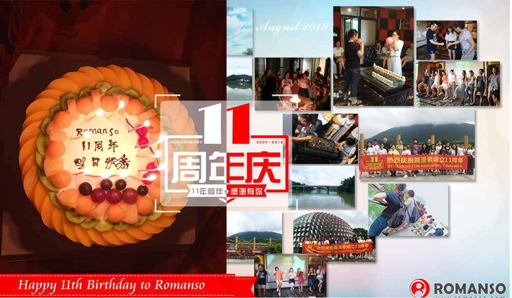 ROMANSO 11th Anniversary Celebration