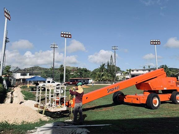 Guam Baseball Field Lighting Project